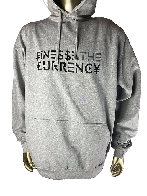 Gray Finesse The Currency Hoodie