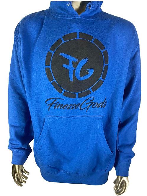 Blue FG Coin Hoodie