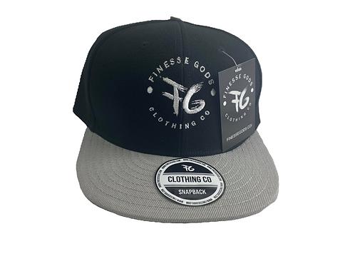 Gray & Black Classic FG Snapback