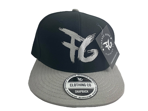 Gray & Black FG Snapback