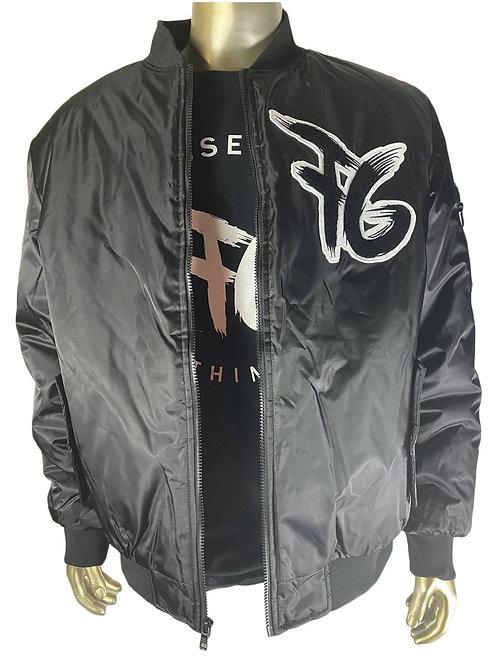 FG Black & White Flight Jacket