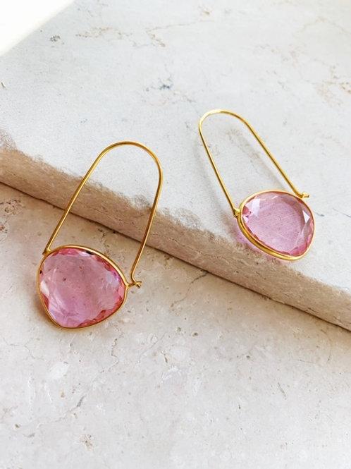 Naomi Soft Pink Earring