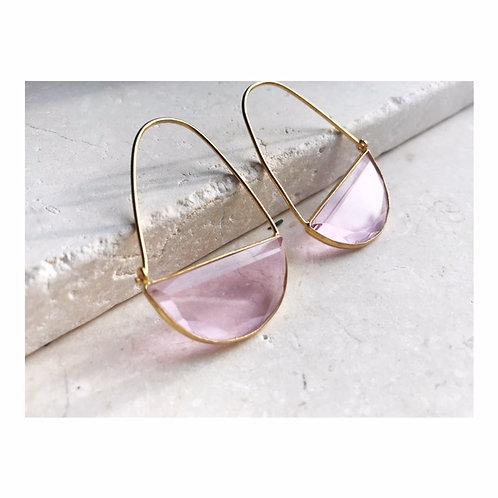 Macke Earrings Soft Pink