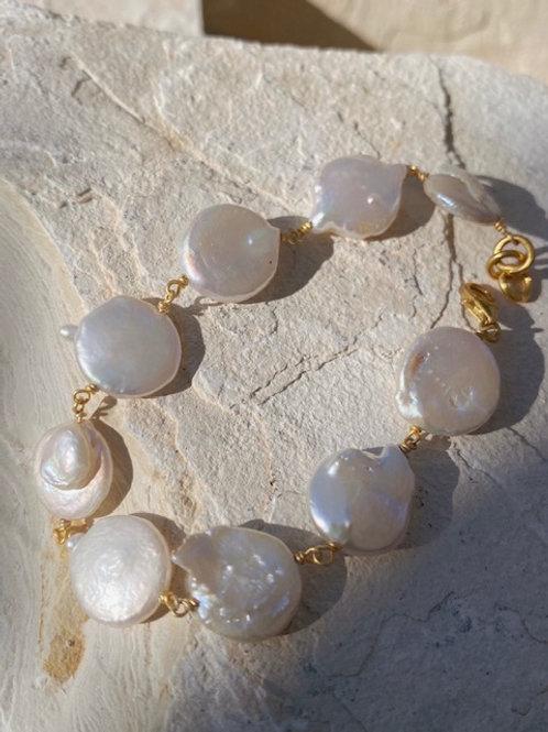 Hermania Baroque Pearl Bracelet
