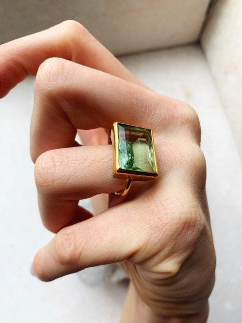 Lenny Ring Green Hydro