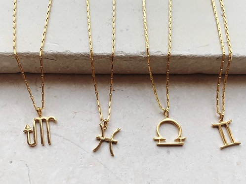 Star Sign Necklace Barleycorn