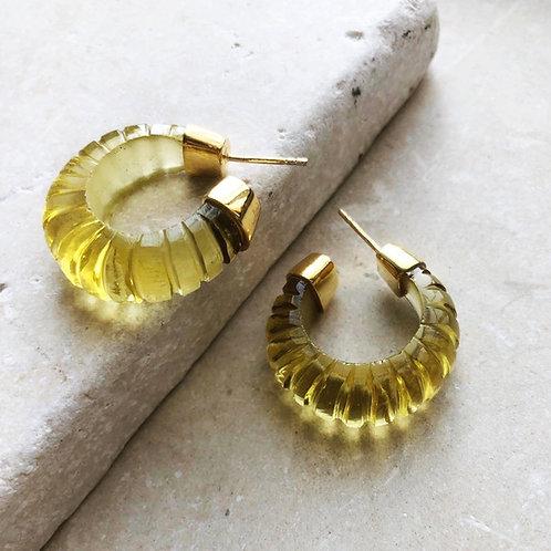 Esme Earrings Lemon