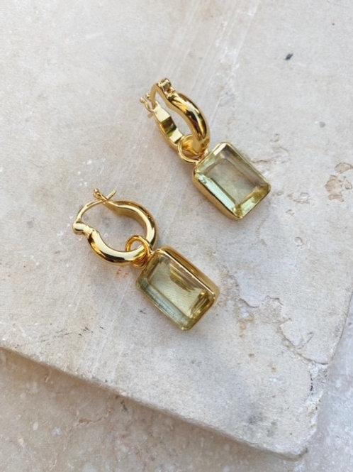 Sorrento Earrings Lemon
