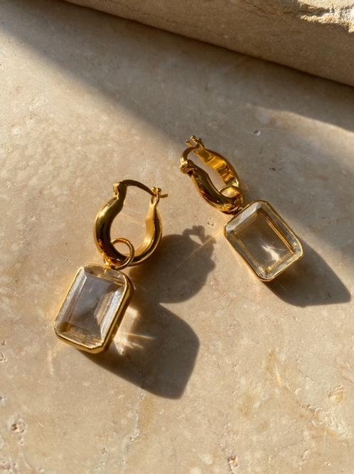 Sorrento Earrings Clear