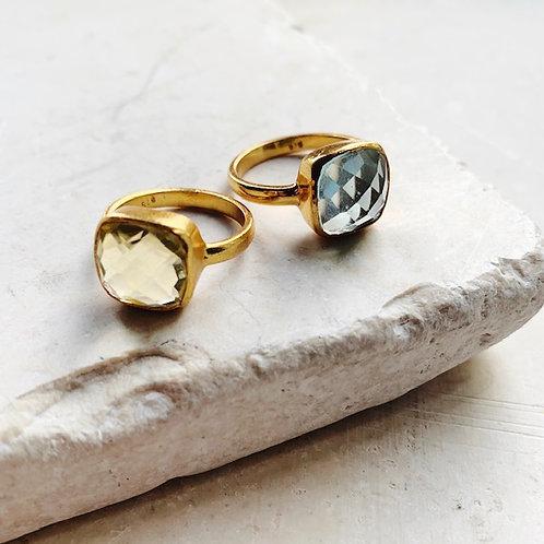 Celine Ring Lemon Quartz