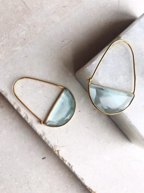 Macke EarringsSoft Blue