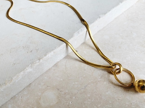Layla Thick Snake Chain Necklace