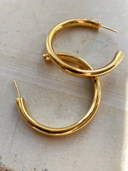 Chunky Hoops Solid