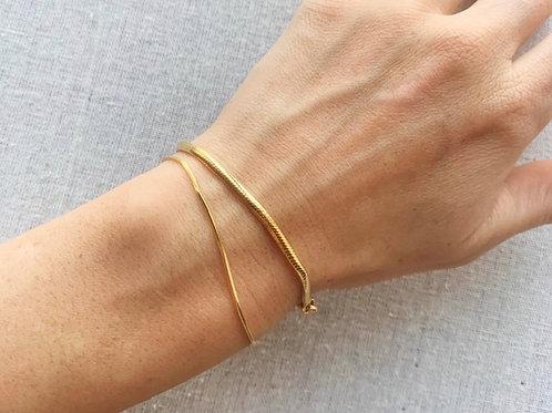 Thin Snake Bracelet