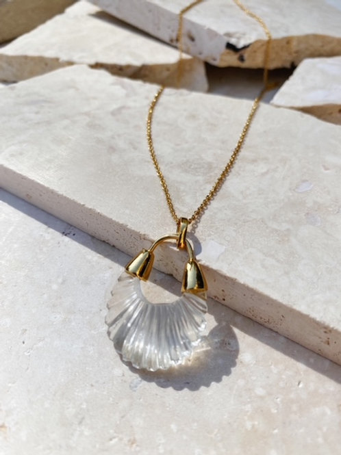 Ettienne Necklace Crystal Clear