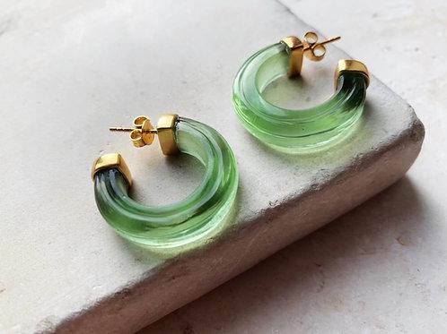 Nairobi Earrings Soft Green