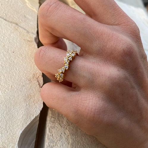 Octavia Ring Crystal Clear