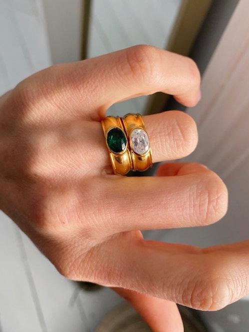 Juniper Ring Crystal Clear