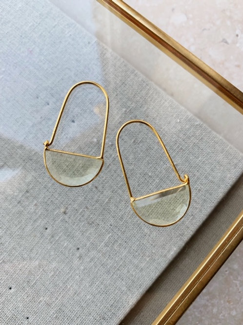 Macke Mini Earrings Lemon Hydro