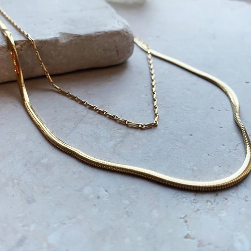 Thick Snake Chain Necklace