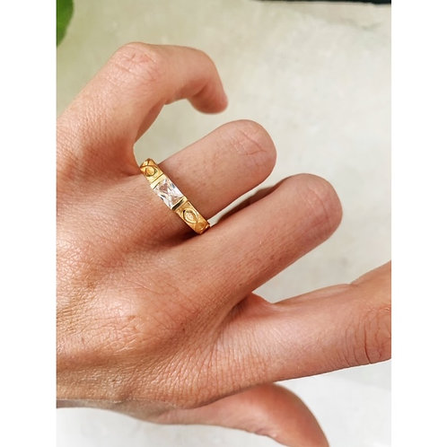 Reese Ring Crystal Clear