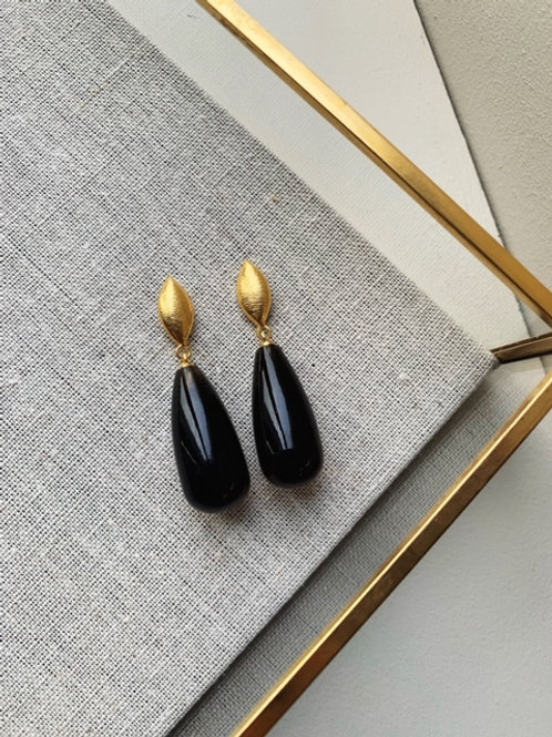 Corine Earrings Smoky