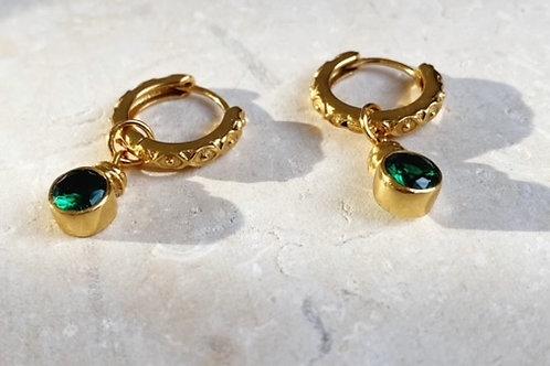 Estelle Huggies Emerald Green