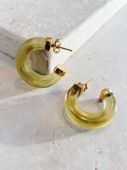 Nairobi Earrings Lemon