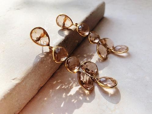 Sheena Earrings Champagne