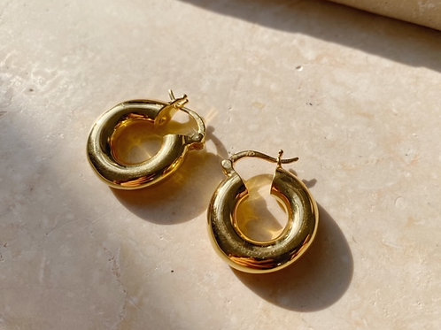 Monica Smooth Solid Earrings