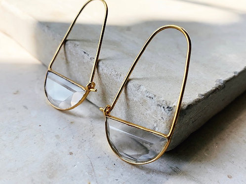 Macke Mini Earrings Clear Hydro