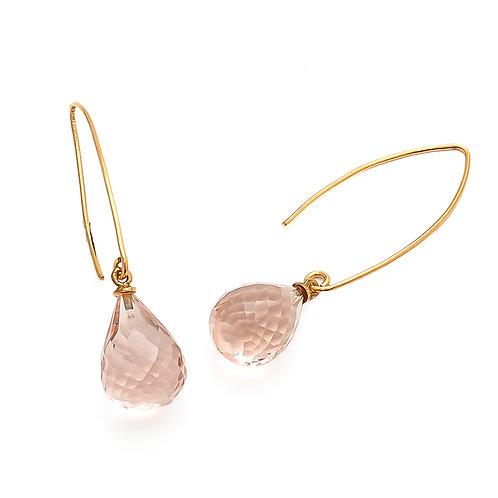 Arabella Earring Pink Quartz