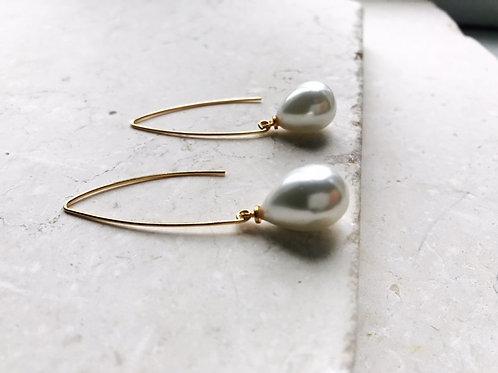 Arabella Earring Pearl Drop