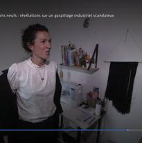 """CAPITAL (M6) - janvier 2019 - """"Textiles, aliments, produits neufs : révélations sur un gaspillage industriel scandaleux"""""""