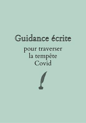 Guidance écrite spéciale Covid
