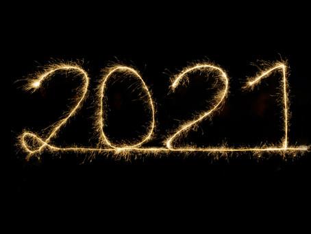 Goodbye 2020 and Hello 2021