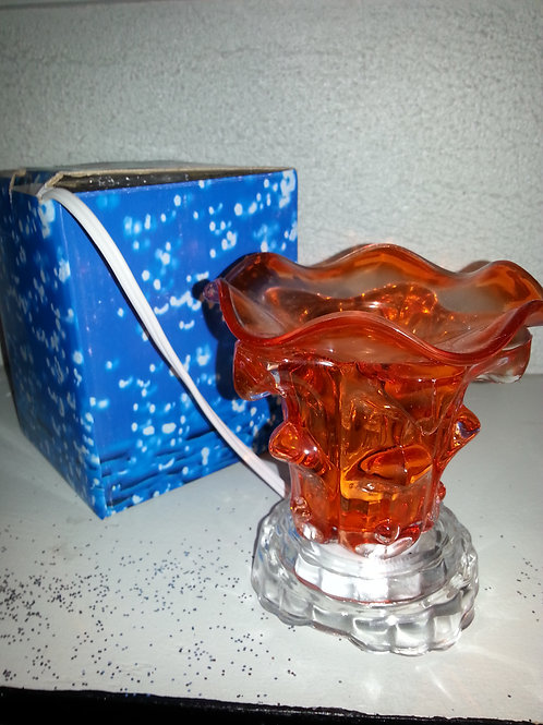 Glass Wax Candle Holder