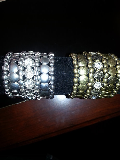 Bracelet -Old Gold and Silver