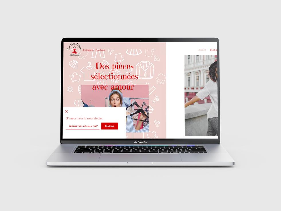Création site boutique en ligne