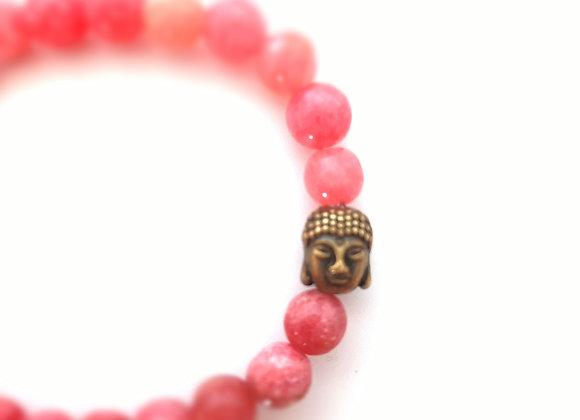 RHODOCHROSITE /  Bracelet en pierres naturelles