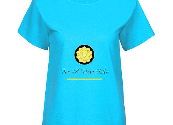 T-shirt pour femme - Plexus Solaire - For A New Life