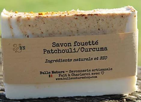 Savon Patchouli / Curcuma - Savon Artisanal