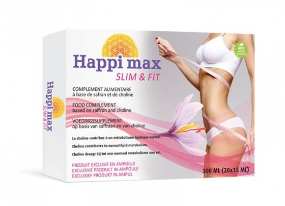 Happi Max Slim & Fit - 20 Ampoules