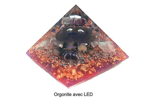 Orgonite LED - 12cm