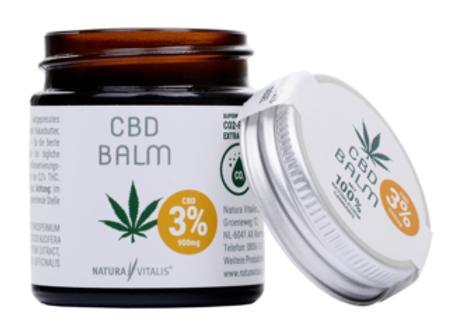 Baume CBD pour peau sensible - 3% de CBD