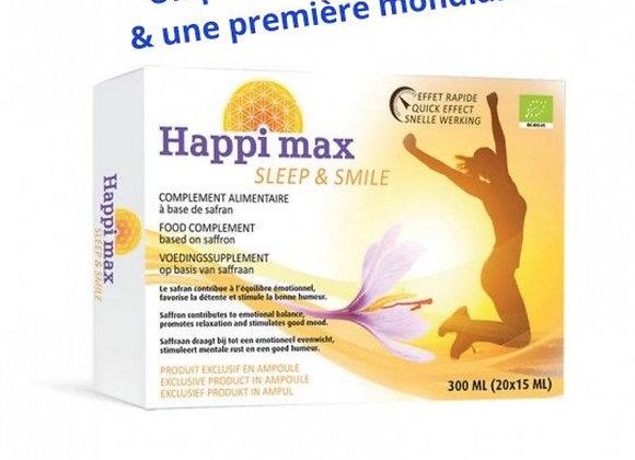 Safran liquide / Complément alimentaire / Happi max Sleep & Smile