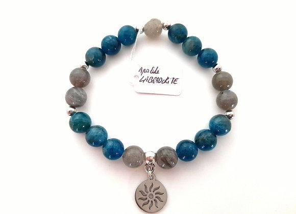 Bracelet Apatite / Labradorite