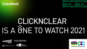 ClicknClear is a 2021 CreaTech One to Watch!