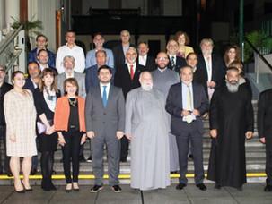 IARA da la bienvenida al nuevo embajador de la Republica de Armenia  Hovhannes Virabyan