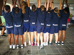 Under 13A Netball Tour Team Back